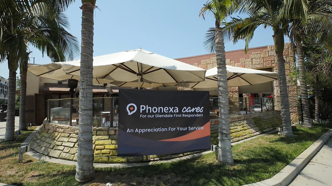 Phonexa Cares for Glendale First Responders