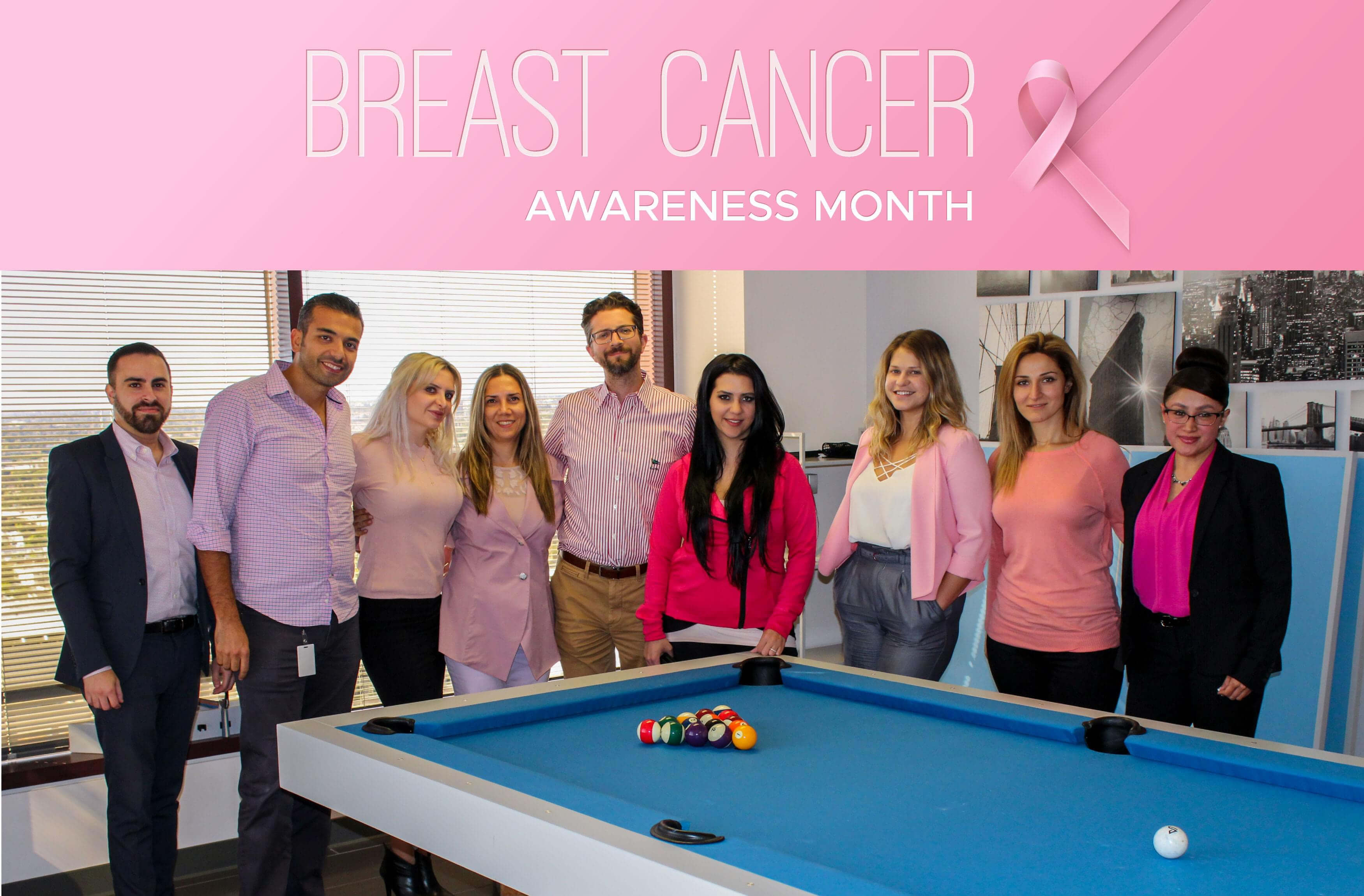 Phonexa Wears Pink for Breast Cancer Awareness