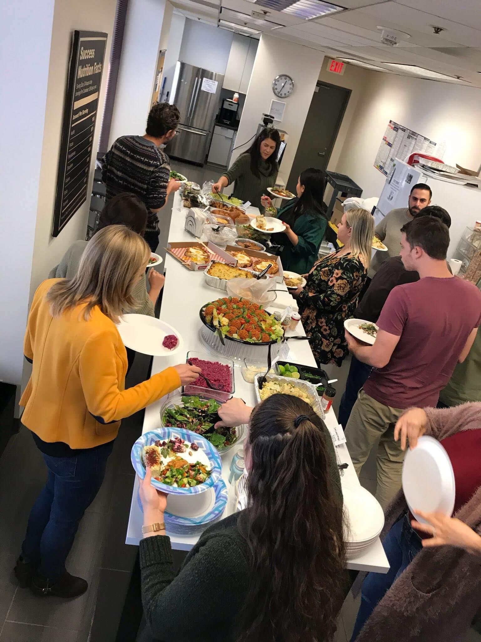 Thanksgiving celebration at Phonexa