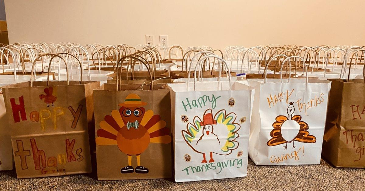 Thanksgiving bags Phonexa